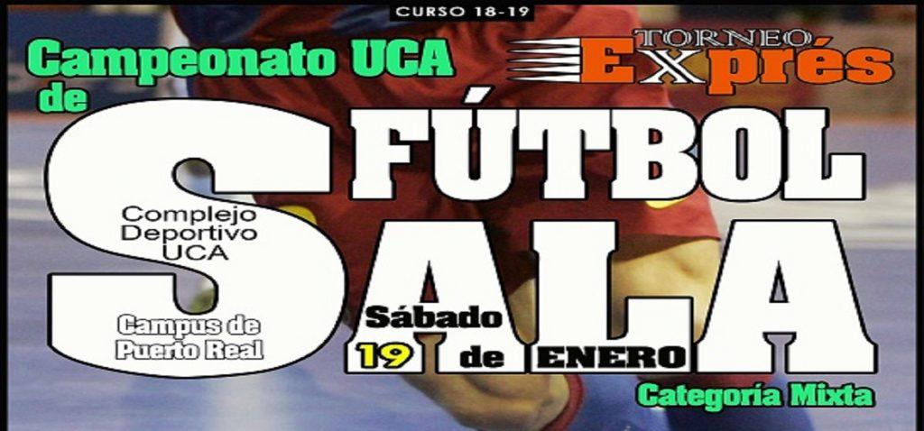 I Torneo Exprés Fútbol Sala