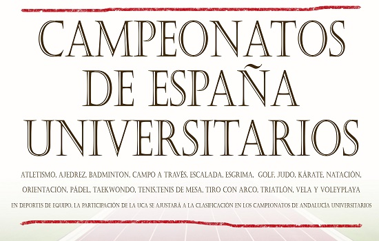 La Universidad de Cádiz participa en los Campeonatos de España Universitarios de Triatlón