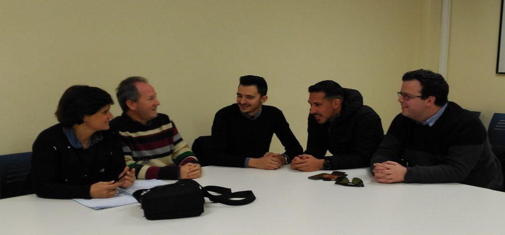 Reunión entre el Área de Deportes y el Consejo de Estudiantes de la Universidad de Cádiz