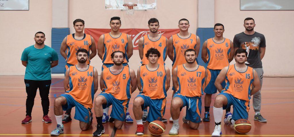 El equipo masculino de Baloncesto finaliza su participación en los Campeonatos de Andalucía Universitarios 2019
