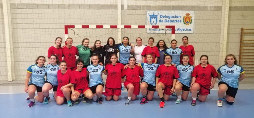 Los equipos UCA de Balonmano visitan al C.D. Ciudad de Algeciras en su preparación para los CAU 2019