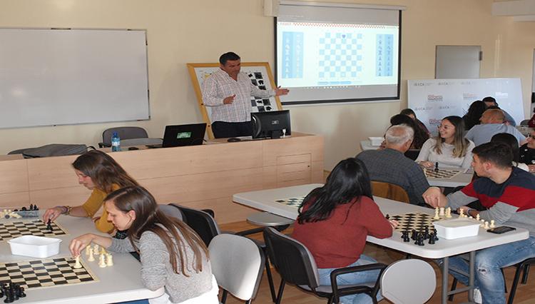 Comienza el Curso de Instructor Autonómico de Ajedrez FADA en el Complejo Deportivo UCA Puerto Real