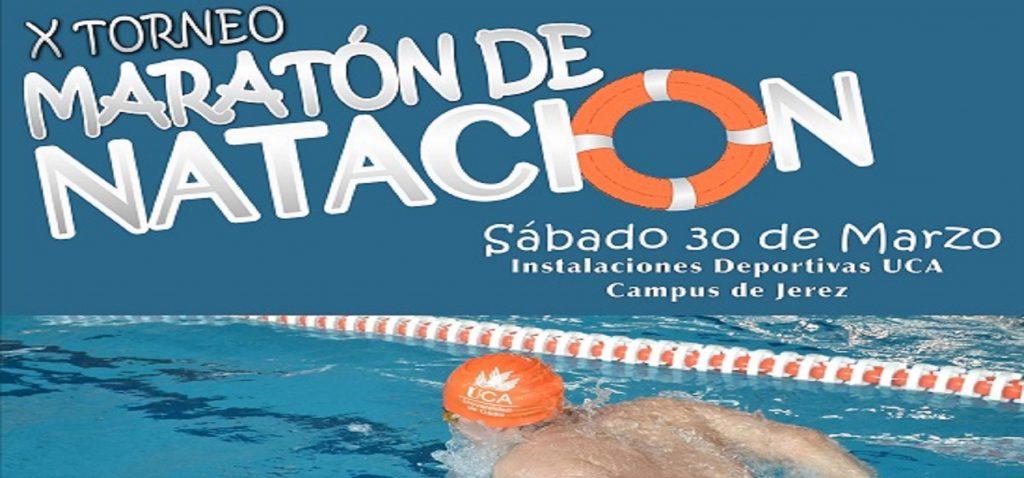 X Maratón de Natación Universidad de Cádiz