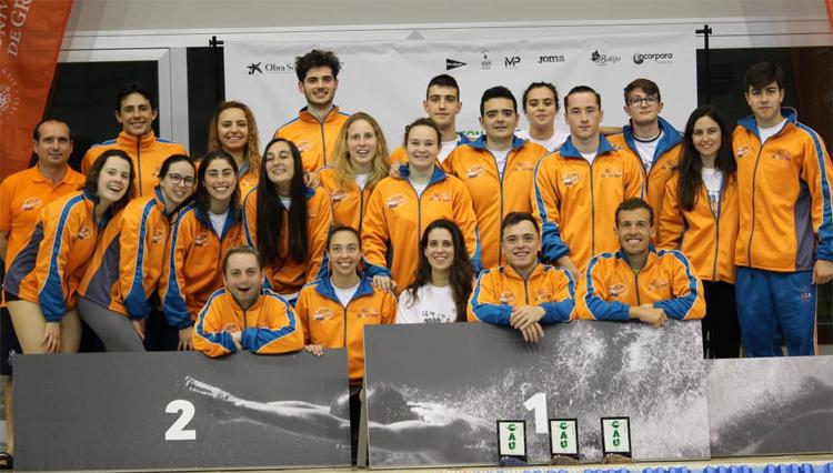 La UCA consigue 27 medallas en los Campeonatos de Andalucía Universitarios de Natación y Natación Adaptada