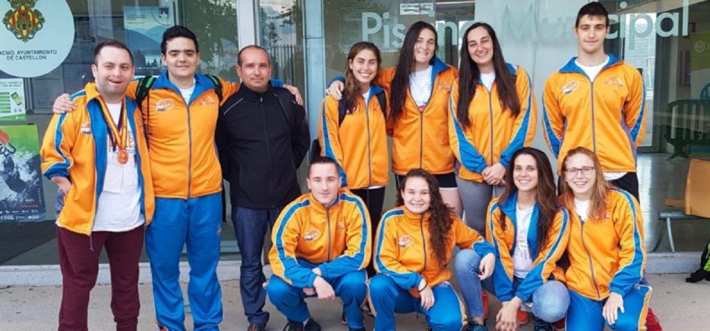 La Universidad de Cádiz entre las diez primeras en el Campeonato de España Universitario de Natación y Natación Adaptada