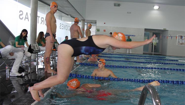 Las Instalaciones Deportivas UCA del campus de Jerez acogen el X Maratón de Natación