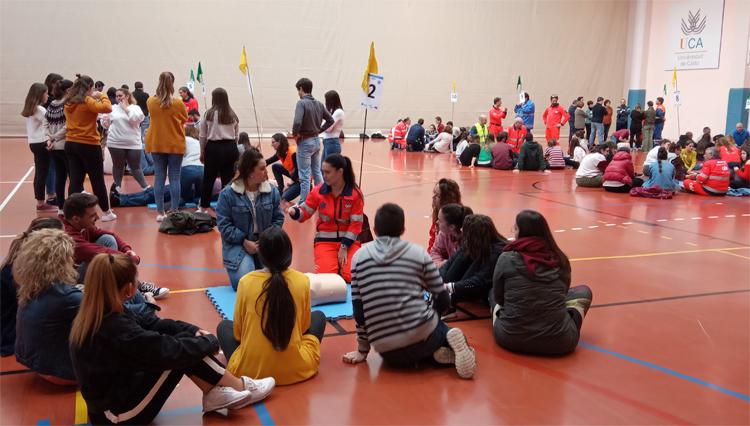 El Complejo Deportivo UCA acoge, un año más, la jornada de formación masiva sobre RCP