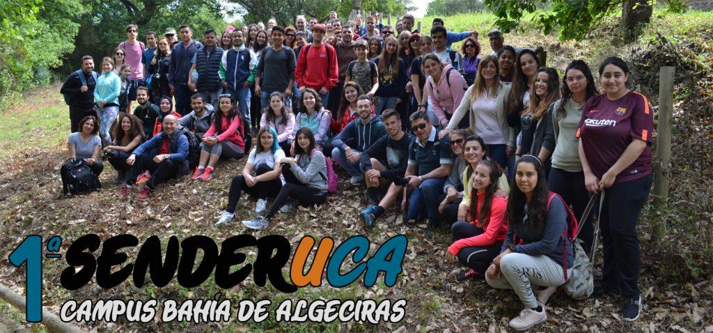 La primera ruta guiada SenderUCA convocó a ochenta personas en el Parque Natural de los Alcornocales