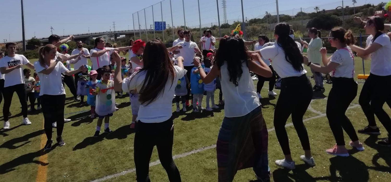 Visita de alumnos del CEIP El Trocadero al Complejo Deportivo UCA