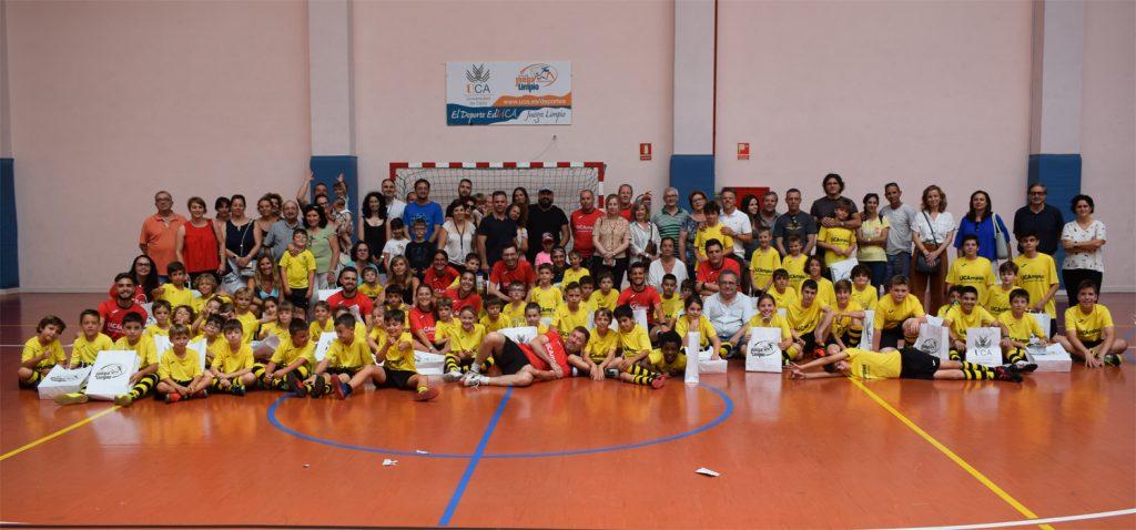 Clausura del VII UCAmpus de Fútbol Universidad de Cádiz en el Complejo Deportivo UCA de Puerto Real