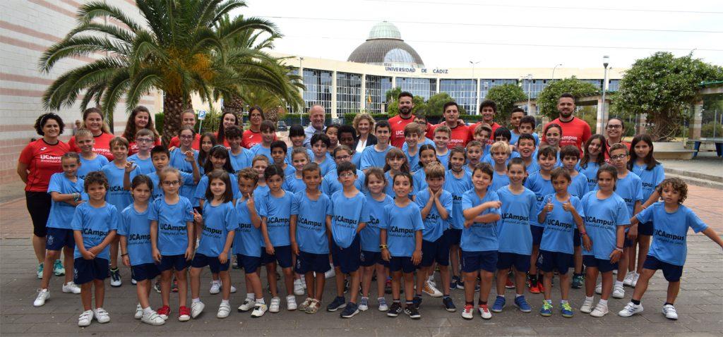 La UCA pone en marcha el VII UCAmpus Infantil de Verano Universidad de Cádiz