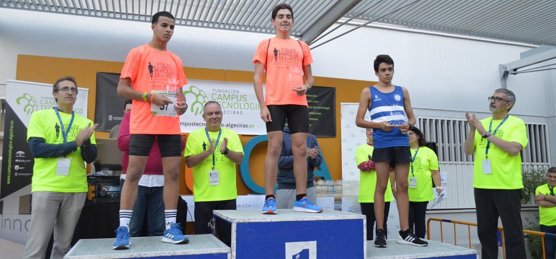 Celebrada la I Carrera Popular  UCA-FCTA Campus Bahía de Algeciras