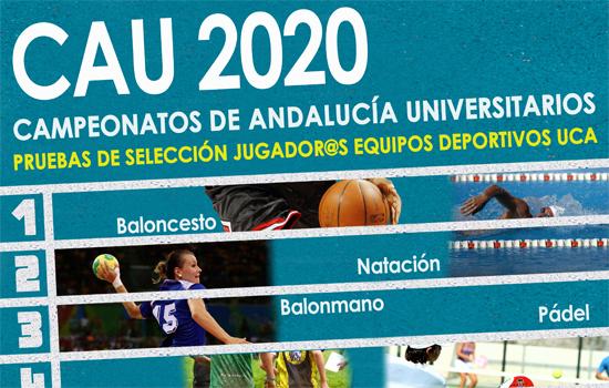 CAMPEONATOS DE ANDALUCÍA UNIVERSITARIOS 2020