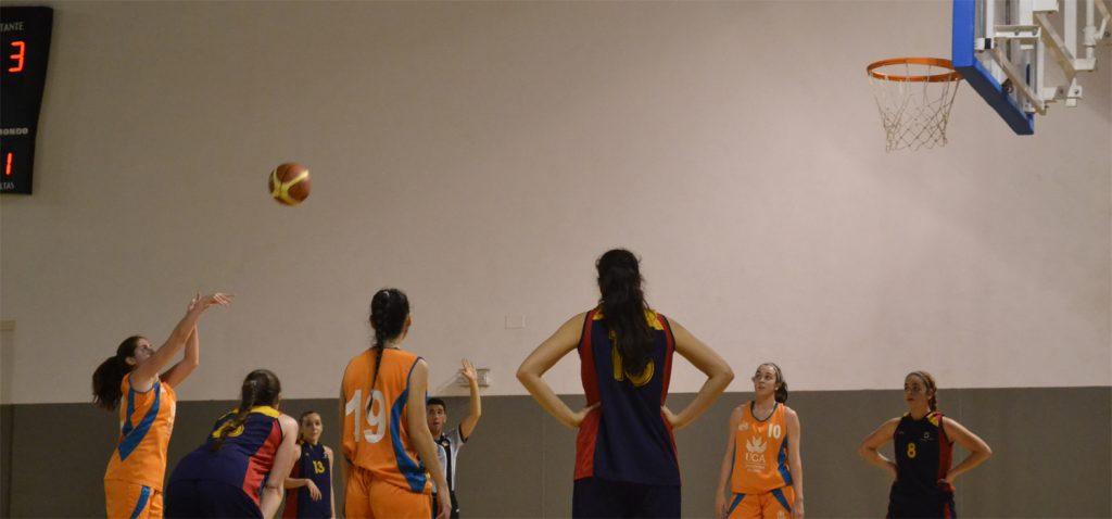 El baloncesto femenino da el pistoletazo de salida a las fases finales de los Campeonatos de Andalucía Universitarios 2020