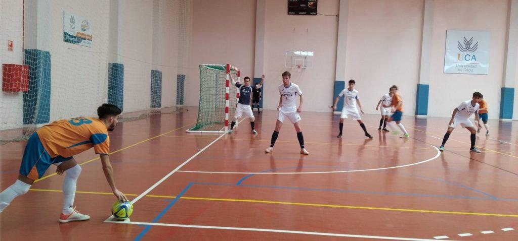 La Universidad de Cádiz participa en las fases finales de los Campeonatos de Andalucía Universitarios de Pádel y Fútbol Sala