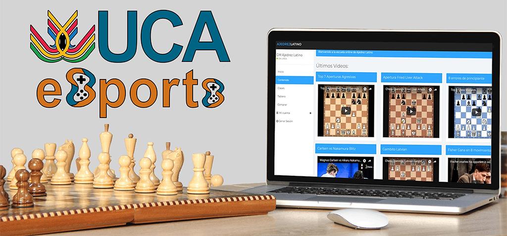 Comienzan los Torneos UCA eSports de Ajedrez
