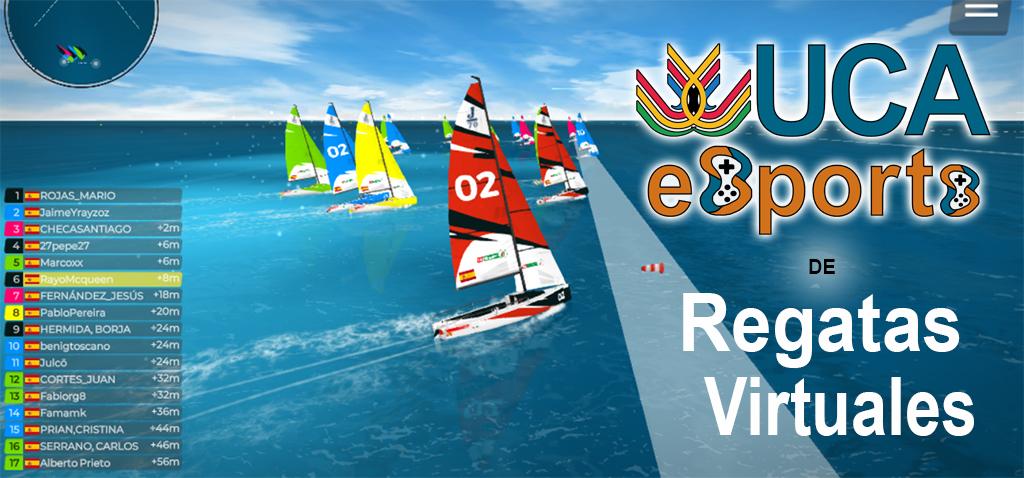 Emocionante primera regata virtual universitaria