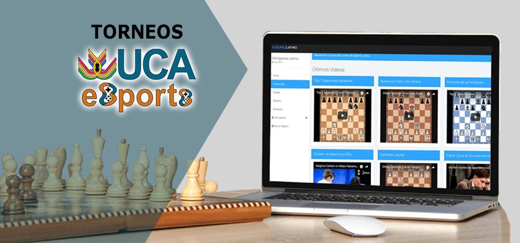 José Luis Insúa y María Palma Chaves, ganadores de la primera edición de Torneos UCA esports de Ajedrez 20-21