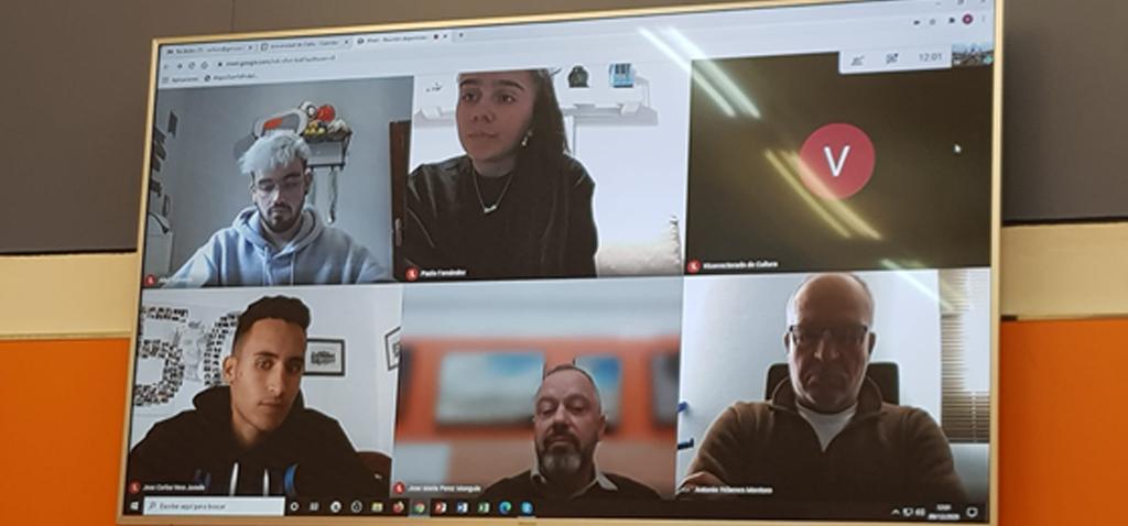El vicerrector de Cultura se reúne con los deportistas de Alto Nivel de la Universidad de Cádiz