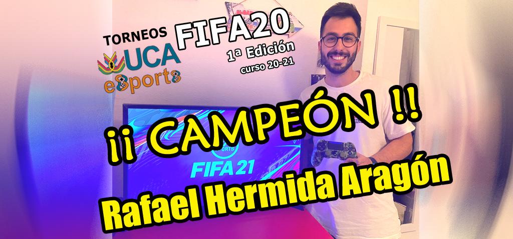 Finalizada la I Edición de los Torneos UCA eSports de FIFA20 del curso 20-21