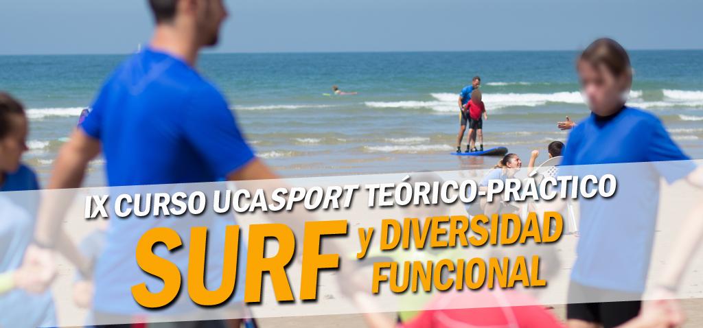 IX Curso UCASport de Surf y Diversidad Funcional