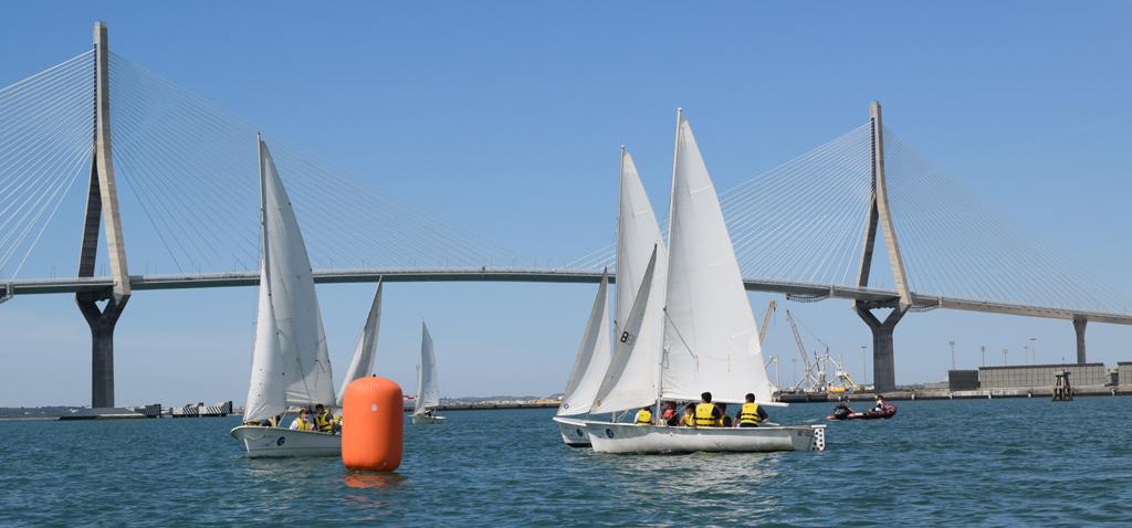 Gran día de regatas en la Universidad de Cádiz
