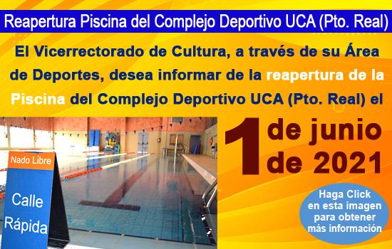 IMG Reapertura de la Piscina del Complejo Deportivo UCA (Pto. Real)